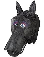 PFIFF 101013 maska przeciw owadom maska na twarz z motywem koni, ochrona przed muchami