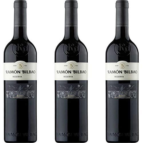 Ramón Bilbao Reserva Vino Tinto Reserva - 3 botellas x 750ml - total: 2250 ml