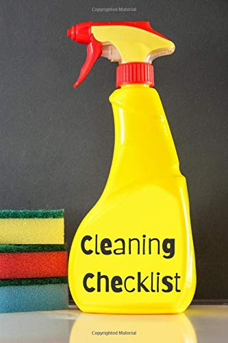 Cleaning Checklist: The perfect yellow spray bottle