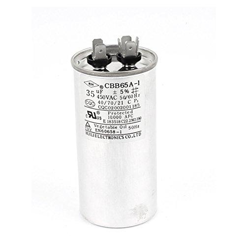 Aexit CBB65 AC 450V 35uF Polipropileno Condensador de funcionamiento para el (model: E8281IIVI-6241FJ) acondicionador de aire