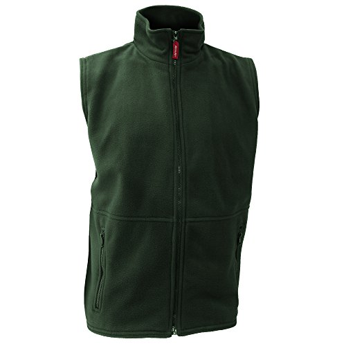 Result Active Herren Fleeceweste XL,Waldgrün