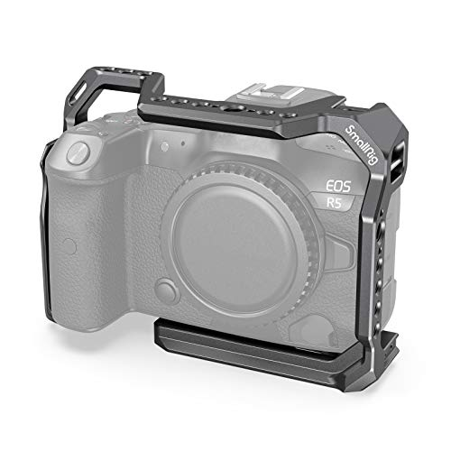 SMALLRIG Cámara Cage Jaula para Canon EOS R5 R6 - 2982