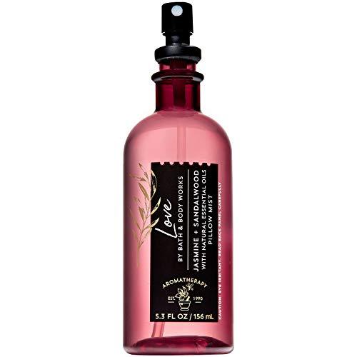 Bath and Body Works LOVE - JASMINE + SANDALWOOD Pillow Mist 5.3 Fluid Ounce