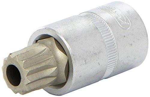 Preisvergleich Produktbild KS Tools 150.9364-E: 1 / 2 Zoll Öldienst-Bit-Stecknuss für Vielzahn-XZN-Schrauben,  M16