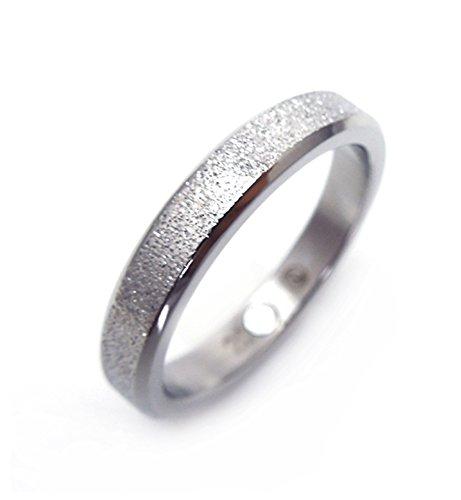 Diamantenstaub eleganter Design Magnetring Silber nickelfrei allergiefrei Energetix 4you 406 Partnerring Ehering Verlobungsring - 20