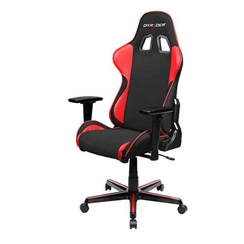 DXRacer FH11/NR Black and Red Formula Series Racing Bucket Seat Office Chair...