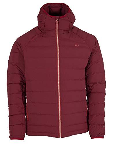 Ternua Nuptse H-Down Jacket M Veste pour Homme XXL Rouge (Rumba Red)