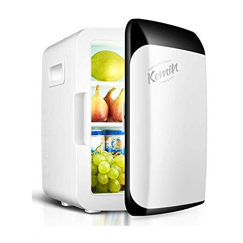 LXYZ Mini Refrigerador Caja Eléctrica Fría Y Caliente 10l, Enfriador, Congelador Portátil 220v-240v AC / 12v DC para Automóviles Y Hogar