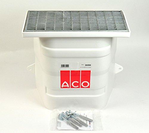 ACO Lüftungsschacht 40x40 ohne Boden Kellerschacht mit Maschenrost Rost Lüftung Keller