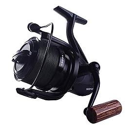 Sonik VADERX RS 8000 Spod Moulinet de pêche à la carpe avec 200 m de fil tressé 30 lb – Moulinet pour la pêche à la…