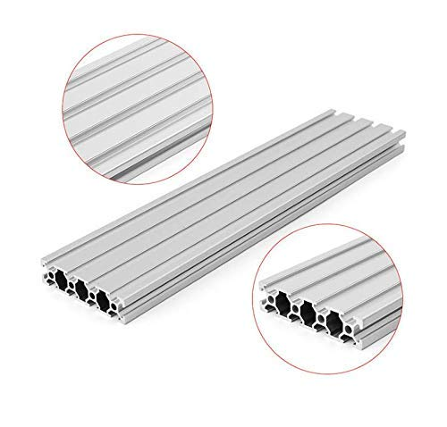 200/300/400mm Length 2080 T-Slot Aluminum Profiles Extrusion Frame for CNC - 300mm