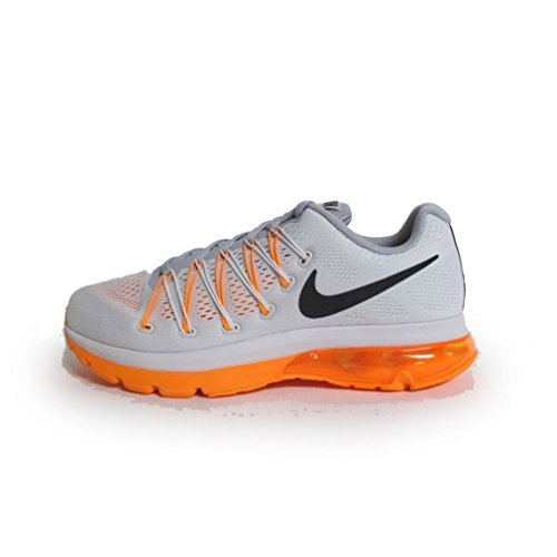 Nike Mens Air Max Excellerate 5 Running Shoes Black/Metallic Silver/Wolf Grey 852692-001 Size 8