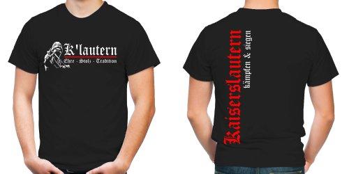 Kaiserslautern Ehre & Stolz T-Shirt   Fussball   Ultras   FB (XXL)