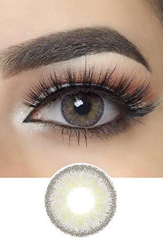 Premium Candy Farbige Kontaktlinsen Jahreslinsen (Candy Gray)