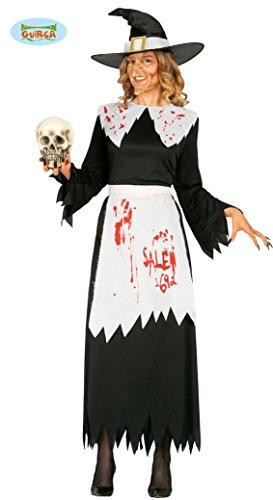 blutige Hexe Kostüm für Damen Gr. M/L, Größe:L