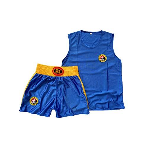 Inlefen Abbigliamento Sanda per Bambini Ragazzi e Ragazze Boxer per Adulti Boxing Shorts Muay Thai Abbigliamento Arti Marziali Formazione Abbigliamento Sportivo