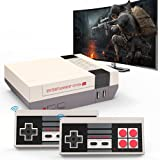 Retro Handheld Game Console,Built in 310 Classic Games with 2 NES Controllers Video Game Player ,Support AV Output Old School Travel Game Console ,Ideal Gift for Children and Adults (Gray)