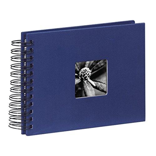 Hama Fine Art Album Fotografico a Spirale, 50 Pagine, 24 x 17 cm, colore blu