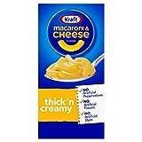 Kraft - Macarrones con queso cena, espesa y cremosa, 7,25 oz...