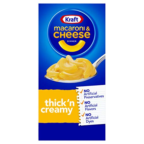 Kraft Thick'n Creamy Macaroni and Cheese Meal (7.25 oz Box)