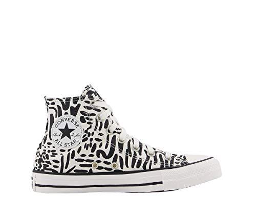 Converse All Star Hi - Zapatillas deportivas altas, color negro