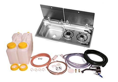 Dometic Smev 9722 Kit d'installation à froid pour camping-car avec évier gauche