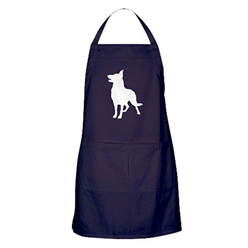 CafePress-German Shepherd Silhouette-Baking Apron
