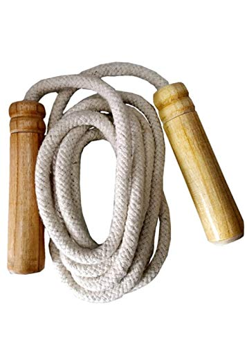 NOT OUT SPORTS Best Quality Cotton Rope skipping ropes For women,Girls,Boys (Pack of 1)