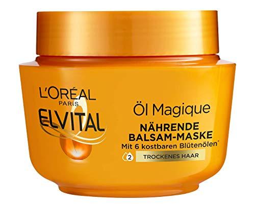L'Oréal Paris Elvital Öl Magique Intensivkur Nährende Balsam-Maske, 300 ml
