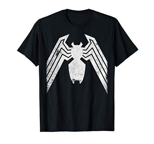 Marvel Venom Distressed Logo Graphic T-Shirt T-Shirt