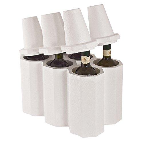 Propac z-cant6botellero botellero (poliestireno, 35x 23x 34,5cm, paquete de 10