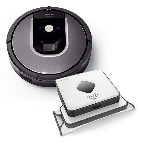 iRobot Roomba 960 plus Braava 390t...