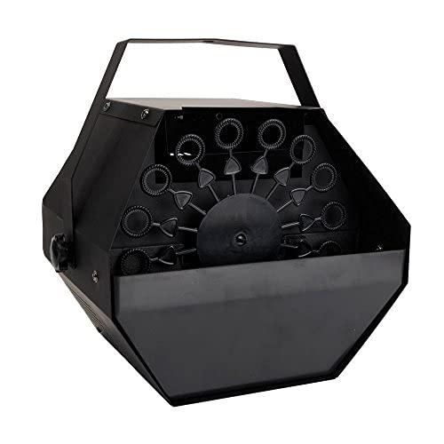 Máquina de burbuja, metal portátil automático mini fabricante de burbujas profesional soplador automático de burbujas con alto rendimiento, perfecto para