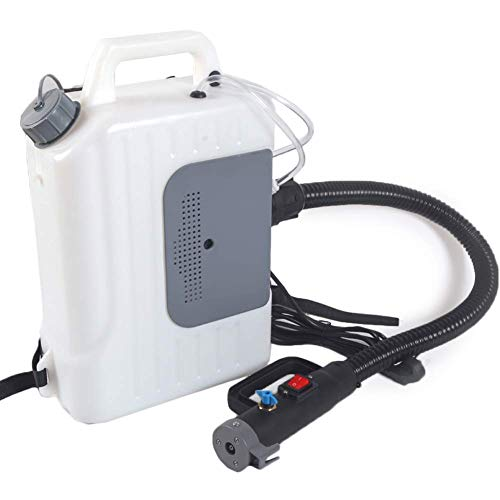 Newbyinn Disinfectant Fogger Machine, Electric Backpack Sanitizer Sprayer, ULV Fogger, Sanitizing Sprayer, 2.6 US GAL