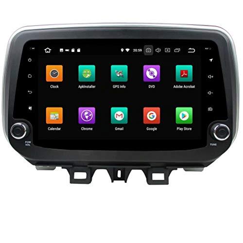 ROADYAKO 64 Go Android 8.0 pour autoradio stéréo Hyundai IX35 Tucson 2018 avec Navigation GPS Lien WiFi Miroir RDS FM AM Bluetooth Audio vidéo