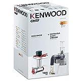 Kit Accessorio Tritacarne KAX950 + Tagliaverdure a Dischi AT340 Kenwood | Kenwood Chef AW20011023 | Compatibile con modelli: KMIX/CHEF SENSE/CHEF SENSE XL