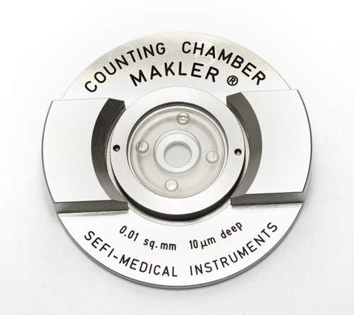 Cámara de conteo de esperma Makler