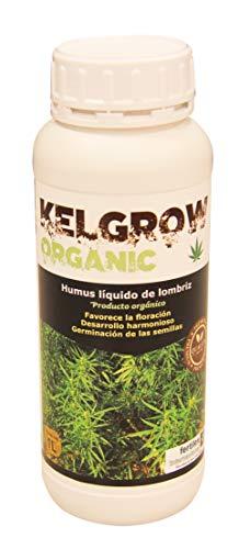 KELGROW ORGANIC Fertilizante, abono orgánico para Cultivar Marihuana o Cannabis, Humus, floración explosiva, nutrientes Naturales para Plantas, germinación de Las semilla