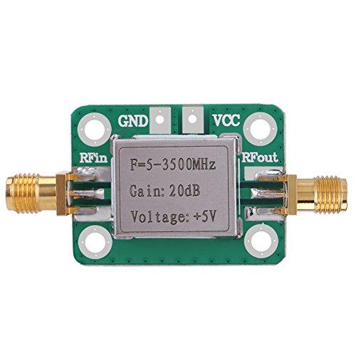 LNA 5-3500Mhz 20Db Amplificador Rf de bajo ruido de banda ancha de ganancia con carcasa protectora, Amplificador de bajo ruido Rf con caja blindada