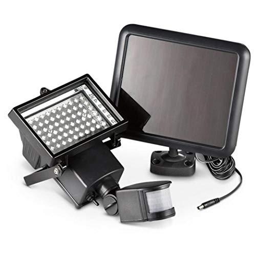 FREEL Luz de inundación Solar, Accesorio de Bombillas de iluminación de inundación de Exterior LED con Sensor de Movimiento, para Home Depot, Garaje, 60pcs LED
