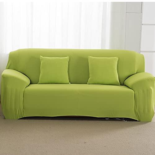WXQY Funda de sofá elástica Gris Todo Incluido Funda de sofá Antideslizante sofá Toalla Funda de sofá Sala de Estar Funda de sofá A18 2 plazas