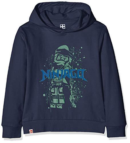 LEGO Jungen cm Ninjago Sweatshirt, Blau (Dark Navy 590), (Herstellergröße: 134)