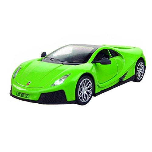1/32 allié modèle de voiture Cool Racing modèle enfant de voiture meilleur cadeau, vert