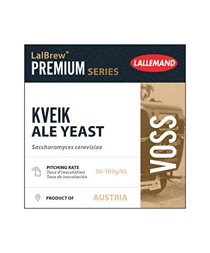 Grape and Granary Lalbrew Voss Kveik Ale Yeast 10g