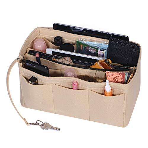 Felt Insert Bag Purse Organizer, Felt Bag Organizer,women purse handbag bag,Handbag Tote Bag in for Speedy Neverfull Longchamp Medium