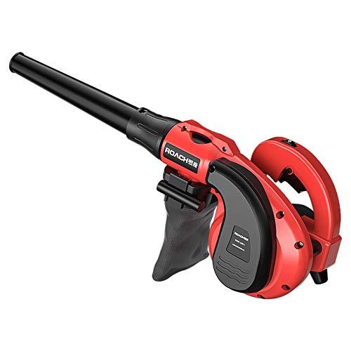 KISNAD Soplador de Hojas Potente Soplador de Hojas, Cámara en Mano de vacío/Sweeper, 6 Engranaje de Velocidad Variable del Ventilador eléctrico de la Hoja Blowing/Nieve/Polvo 15m de Cable 2-en-1