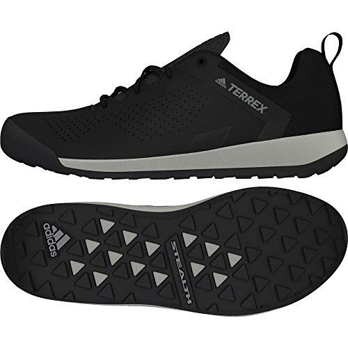 adidas Terrex Trail Cross Curb, Men's Mountain Biking Shoes, Black (Cblack/Greone Cblack/Cblack/Greone), 7 UK (40 2/3 EU)