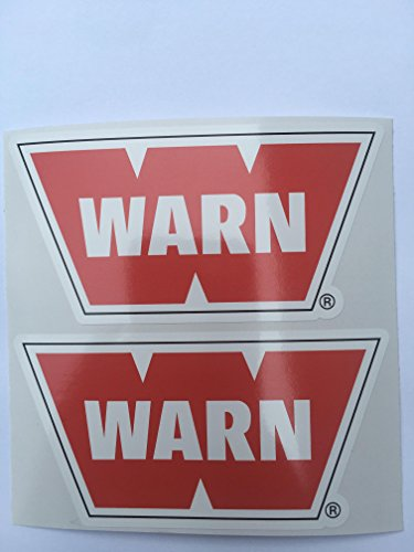 SBD Decals 2 WARN Winch Decals