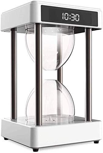 YLSP Kreative Sanduhr Anti-Schwerkraft Ausgesetzt Luftreiniger Formaldehyd Perlen Befeuchtung Schlafzimmer Büro Mode Café Tischdekorationen Entfernen (Color : -, Size : -)