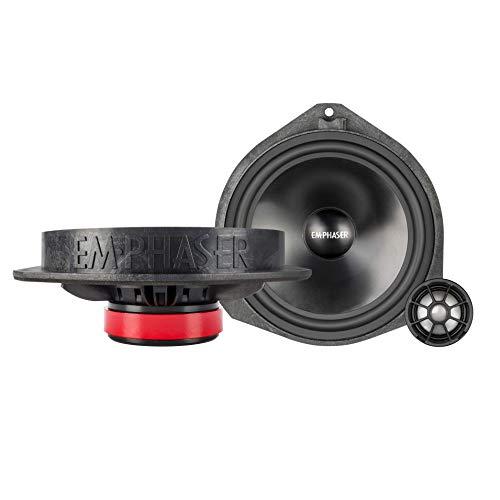 EMPHASER EM-FTF1 Lautsprecher Einbauset für die vorderen Türen des FIAT Ducato, Citroen Jumper und Peugeot Boxer
